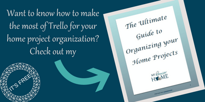 Get the ultimate guide to organizing your home projects.