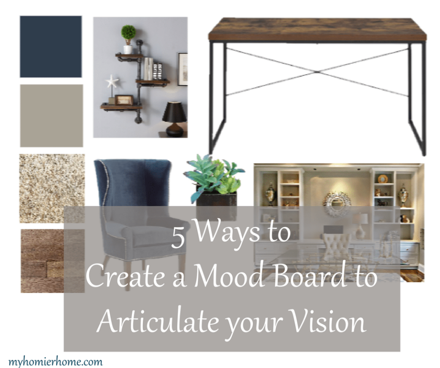 5 Ways to Create a Mood Board to Articulate your Vision