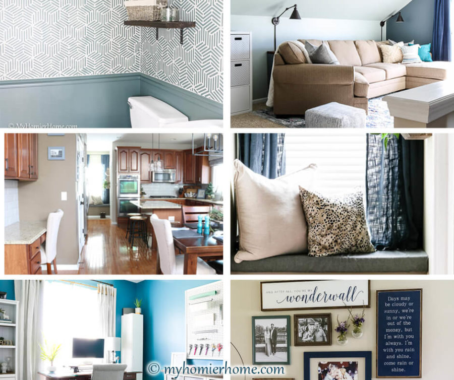 A new year to reflect on what we've accomplished and where we plan to go next. Check out my round up of the best of My Homier Home in 2019 to gather inspiration for your next home project.