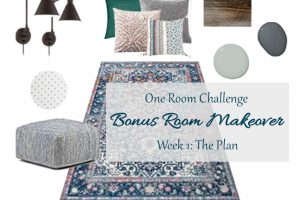 Bonus Room Makeover | One Room Challenge Week 1