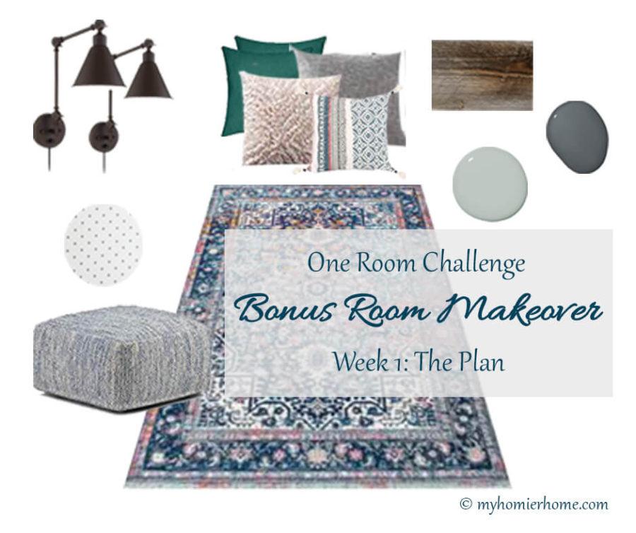 Bonus Room Makeover | One Room Challenge Week 1