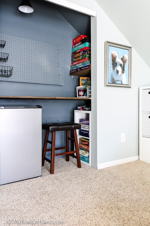 The One Room Challenge has come to an end! If you are looking for fun adult and kid friendly inspiration, check out my bonus room makeover final reveal!