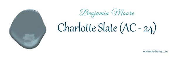 Charlotte Slate - Benjamin Moore