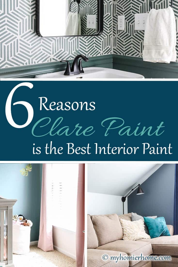 Looking to make choosing paint colors the easiest thing you'll do today? Well, let me introduce you to my favorite place to buy interior paint - Clare paint!