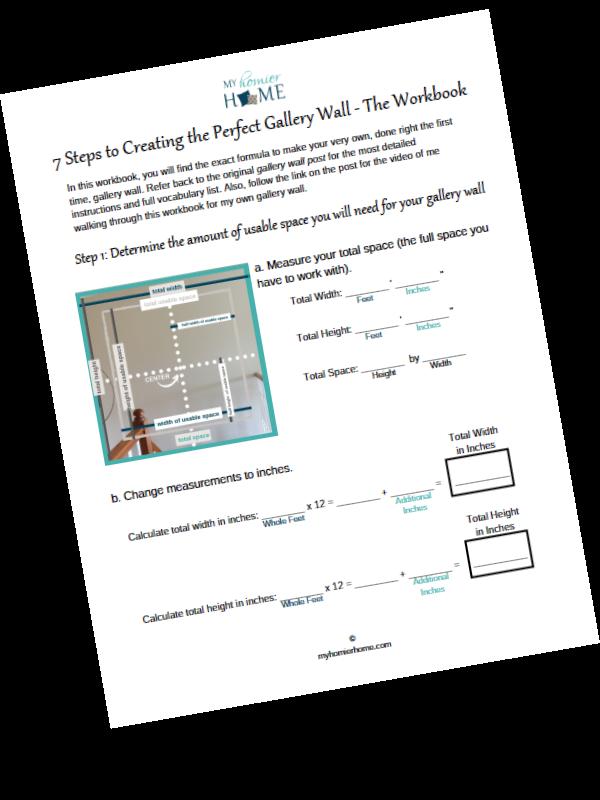 Create gallery wall workbook