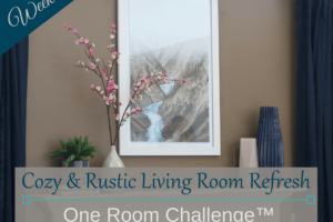Cozy & Rustic Living Room Refresh | ORC Week 2