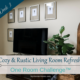 Cozy & Rustic Living Room Refresh | ORC Week 3