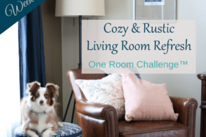 Cozy & Rustic Living Room Refresh | ORC Week 5