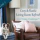Cozy & Rustic Living Room Refresh | ORC Week 5