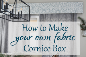 DIY Cornice Box | Step-by-Step Tutorial