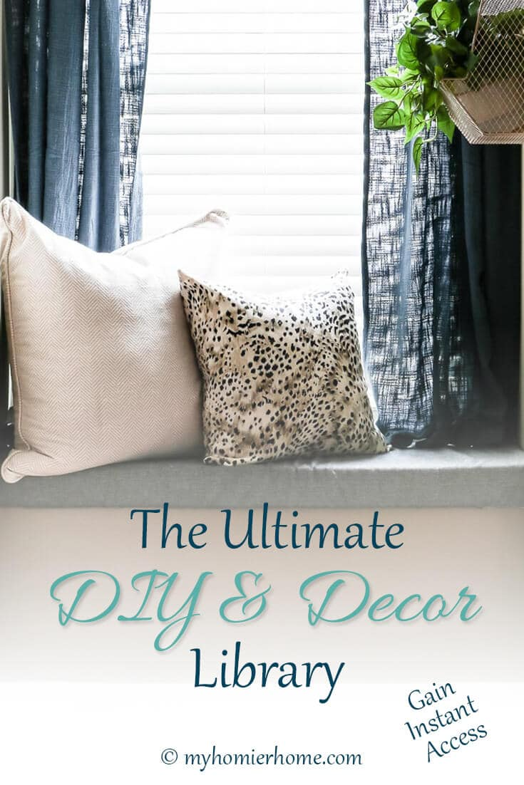 Gain instant access to the ultimate DIY & Decor Library complete with tutorials, videos, and checklists to make your next project simple and smooth. Check it out now!