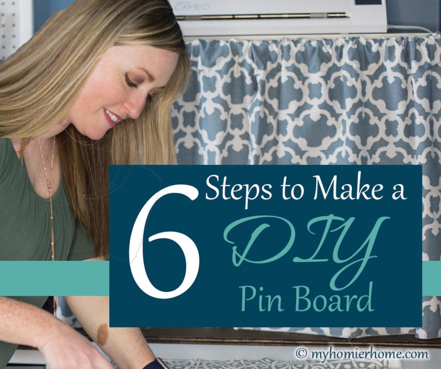 DIY Pin Board, Craft Tool Organization + Accessories