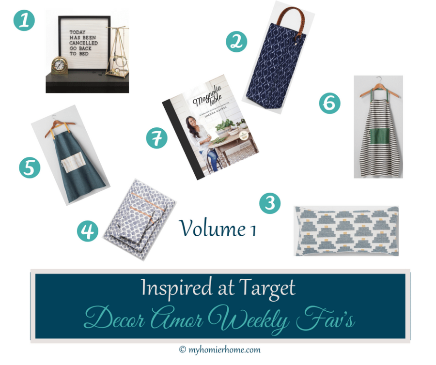 Inspired at Target | My Fav's this Week