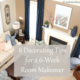 8 Decorating Tips for a Six-Week Room Makeover
