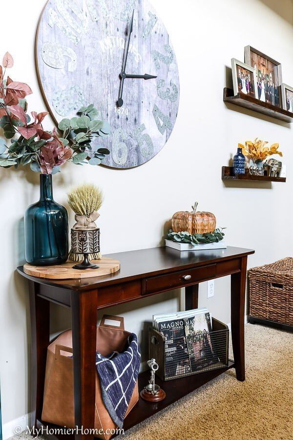Living room fall inspiration