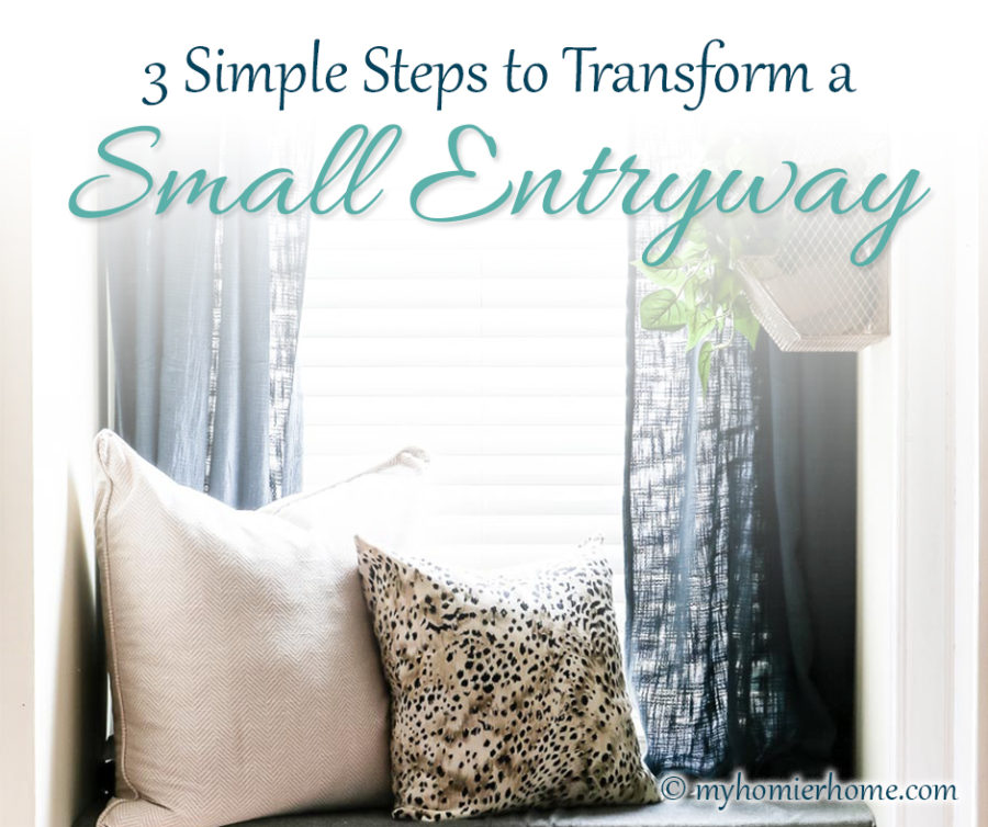 3 Simple Steps to Transform a Small Entryway