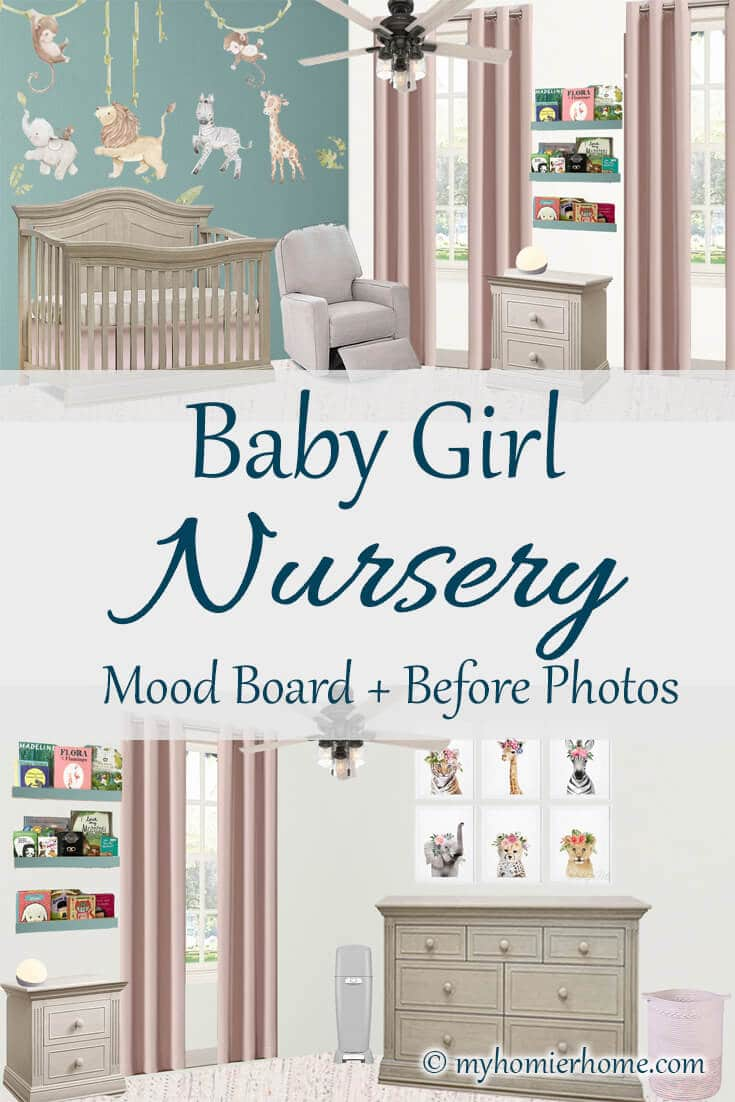 Operation: Nursery is in full effect! Today, I'm sharing with you my plans for this baby girl nursery along with the before photos. Over the next month, I'll be making sure this room is ready to rock. Come check it out!