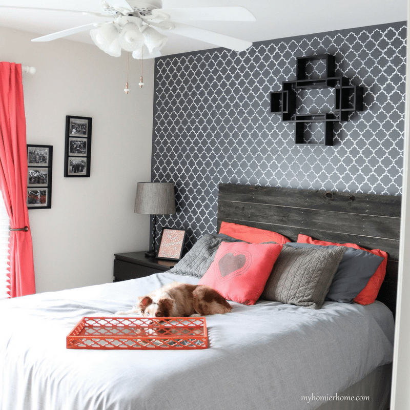 Guest Bedroom - Orange &