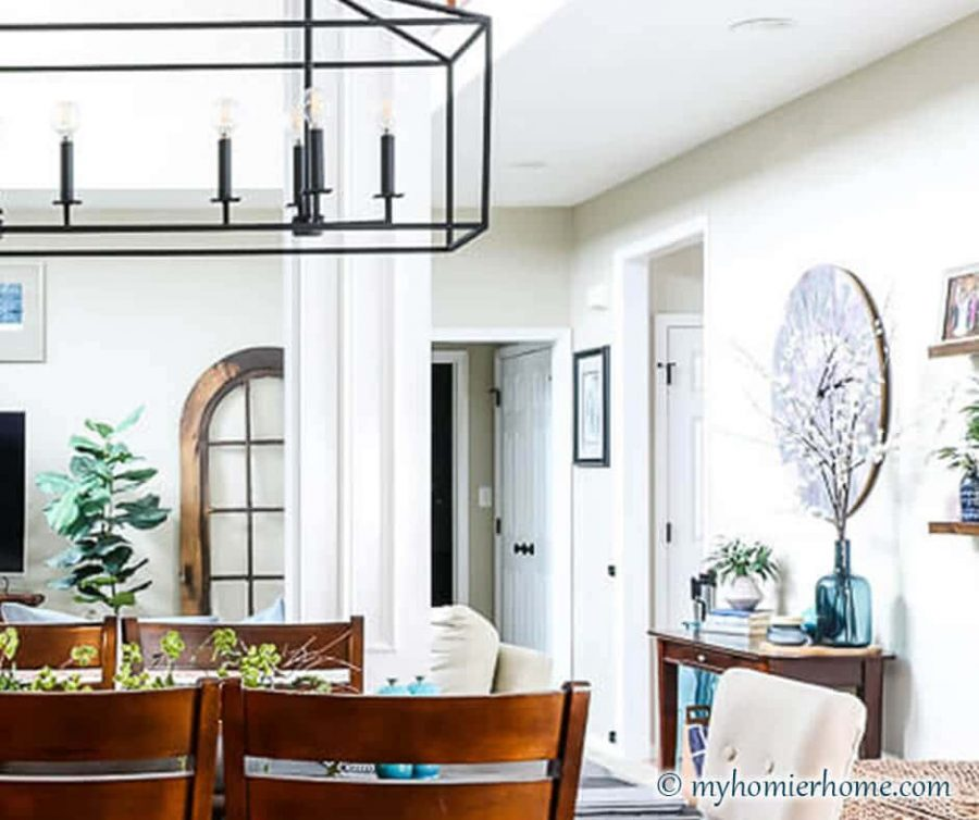 If you love a mix of modern and vintage, this is the home tour for you! See how we purposefully mix old with the new in this Modern Vintage Home Tour.