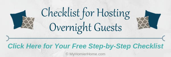 Hosting overnight guests soon? This checklist will help you make sure you provide the best mini-hotel experience for your guests.