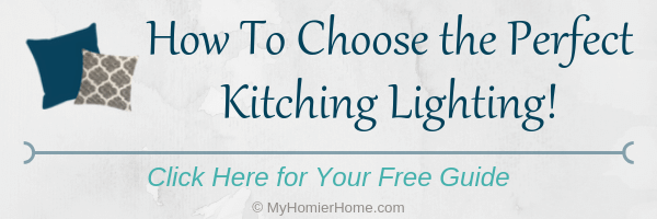 All the tips you need to choose kitchen lighting at your fingertips!