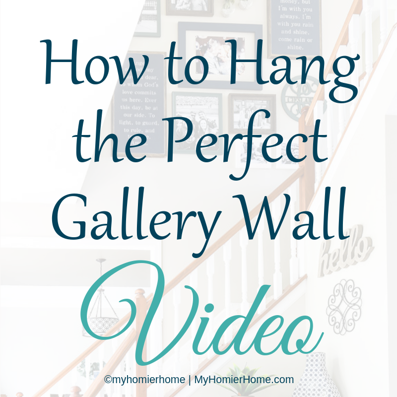 Looking for the best way to hang a gallery wall on your stairs? This tutorial has everything you need to know to make this daunting task a breeze!