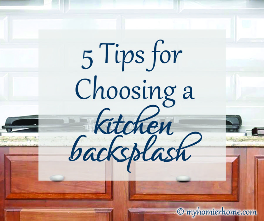 5 Tips for Choosing a Kitchen Backsplash