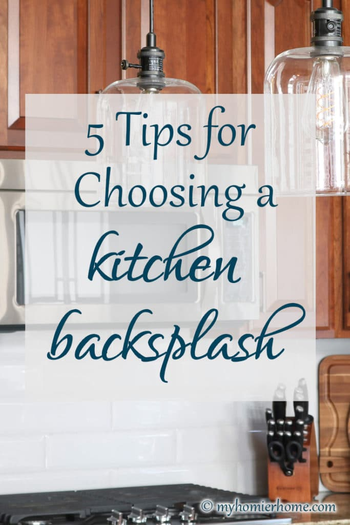 Ready to finally give your kitchen a backsplash upgrade? Here are 5 tips to help you with the process of choosing the right backsplash for your kitchen.