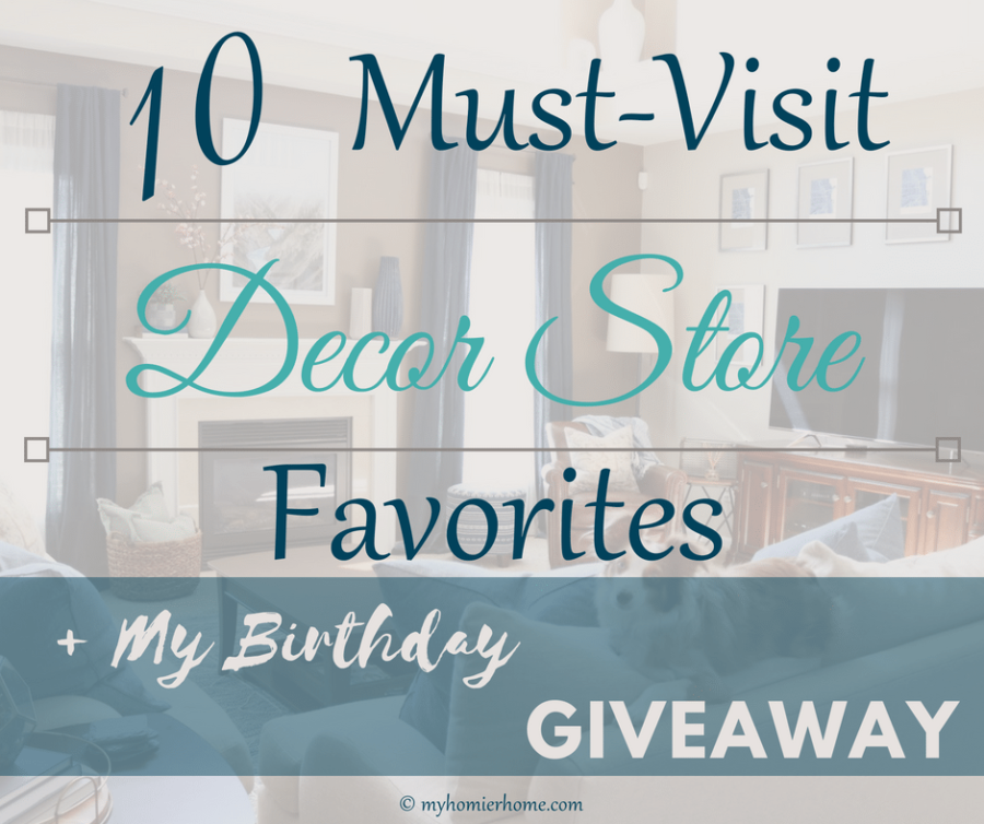 My 10 Must-Visit Decor Store Favorites: Target, West Elm, Pottery Barn, Home Goods, Arhaus