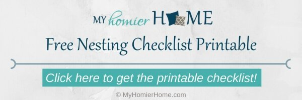 Get your free nesting checklist printable