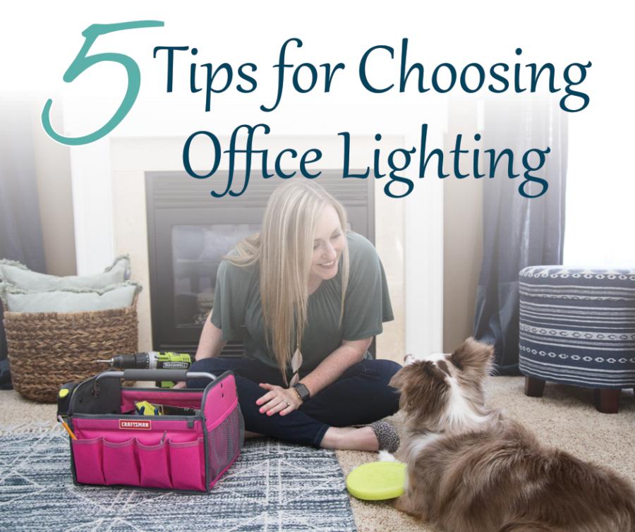 5 Tips for Choosing Office Lighting