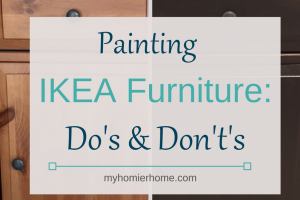 Painting IKEA Furniture: Do's and Don't's