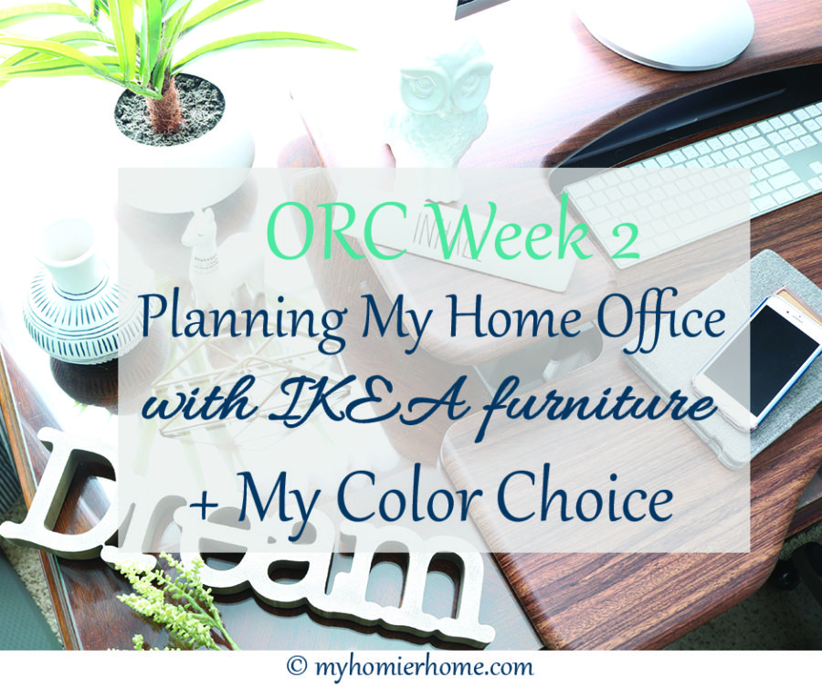 Planning My Home Office with IKEA Furniture + My Color Choice