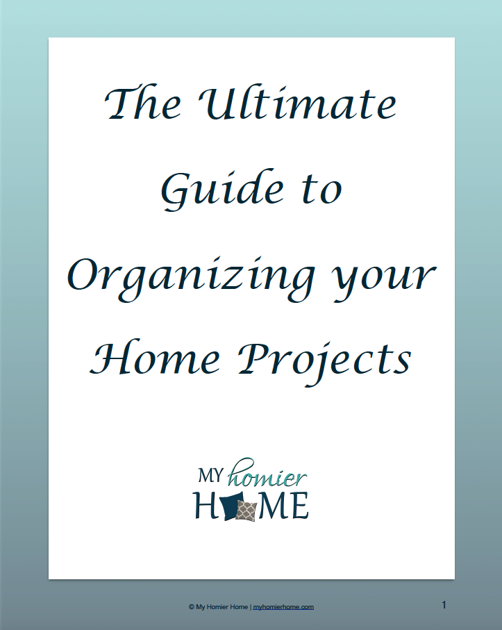 The Home Project Organization Challenge