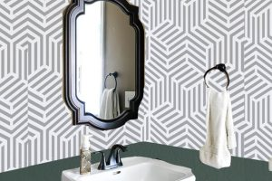 Small Bathroom Makeover: $100 Room Challenge