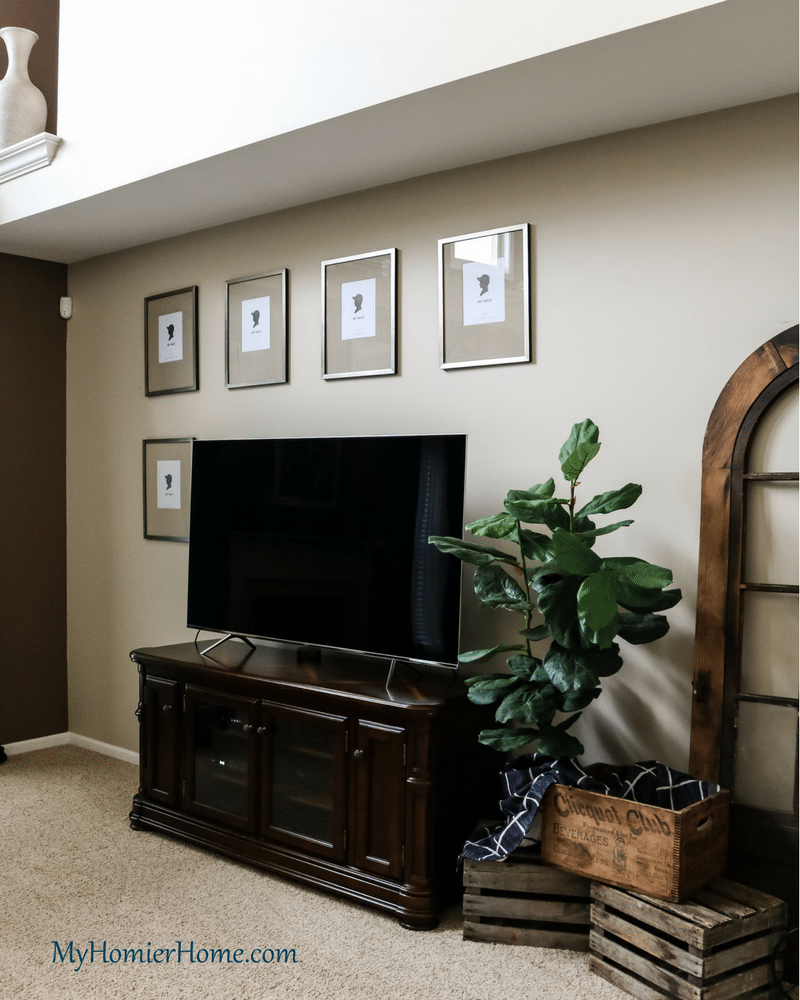 ORC Living Room Refresh Gallery Wall Side