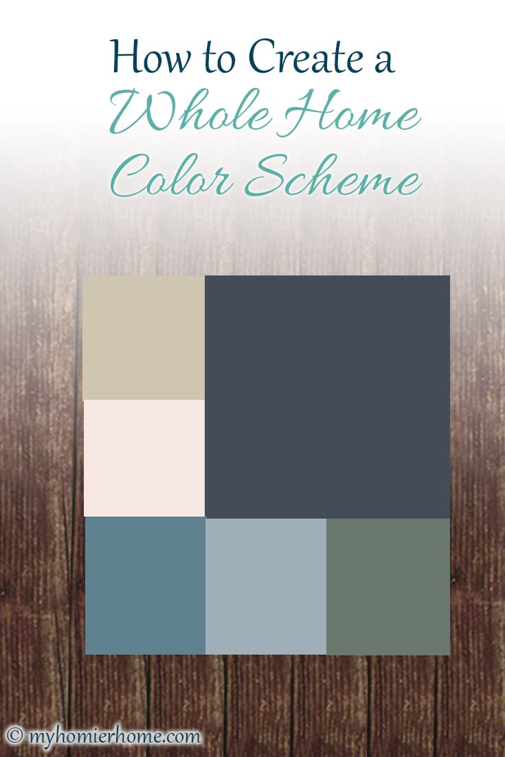 Ready to get some clarity on choosing colors for your home? I'll show you exactly how to create a whole home color scheme to guide you to paint colors!