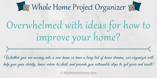 Whole Home Project Organizer