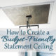 How to Create a Budget-Friendly Statement Ceiling