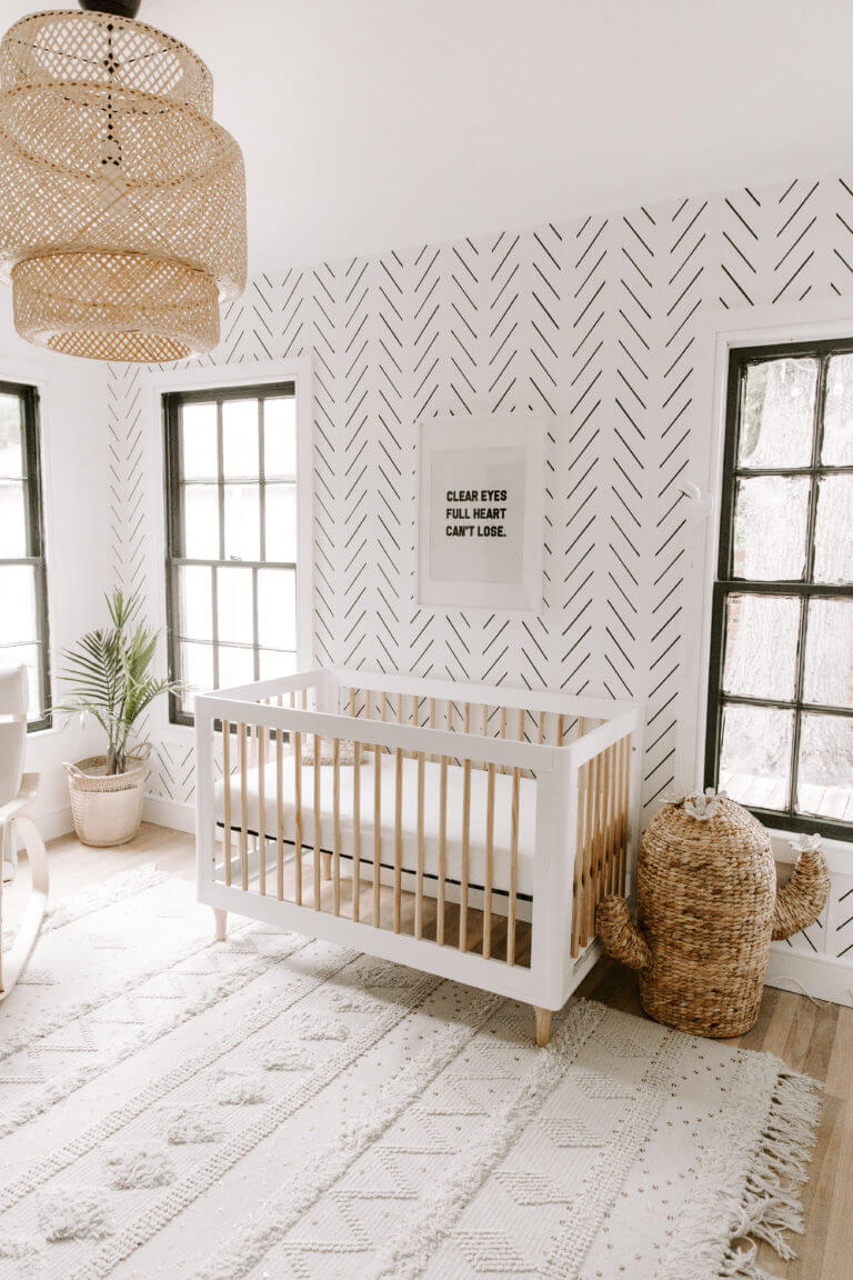 Baby Girl Nursery Ideas | Accent Walls, Animal Themes, & Beautiful Pinks | My Homier Home